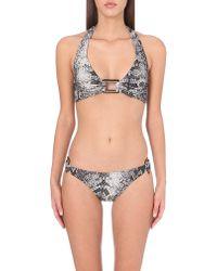 Melissa Odabash | Multicolor Paris Halterneck Bikini Top | Lyst