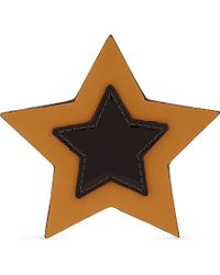 Tommy Hilfiger | Brown Leather Star Badge - For Women | Lyst