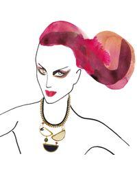 Lizzie Fortunato - Metallic Miro Necklace - Lyst