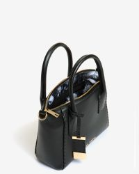 Ted Baker | Black Lauren Small Leather Tote Bag | Lyst