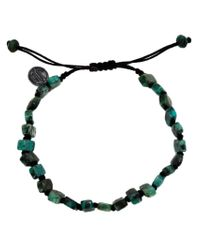 Joseph Brooks - Green Stone Beaded Bracelet for Men - Lyst