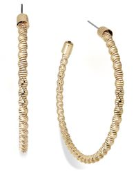 INC International Concepts | Metallic Inc International Concept Gold-tone Tight Twist Hoop Earrings | Lyst
