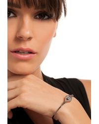 Trina Turk - Metallic Triangle Stone Thin Cuff - Lyst