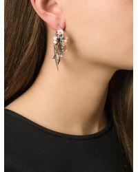 Shaun Leane | Metallic 'cherry Blossom' Rhodalite Earrings | Lyst