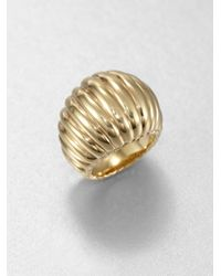 John Hardy | Metallic Bedeg 18k Yellow Gold Dome Ring | Lyst