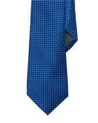 Lauren by Ralph Lauren | Blue Geometric Macclesfield Silk Tie for Men | Lyst