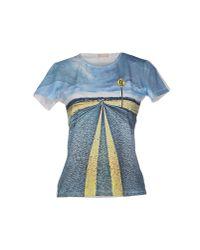 John Galliano - Gray T-shirt - Lyst