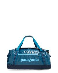 Patagonia | Blue 'black Hole' Duffel Bag for Men | Lyst