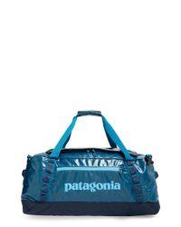 Patagonia - Blue 'black Hole' Duffel Bag for Men - Lyst