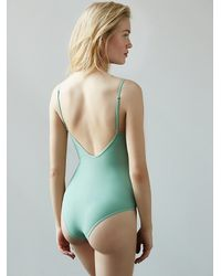 Free People - Green Movement Bodysuit - Lyst