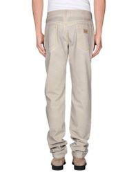 Dolce & Gabbana - Gray Denim Trousers for Men - Lyst