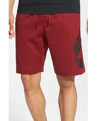 Nike | Red Sb 'sunday' Dri-fit Shorts for Men | Lyst