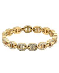 Michael Kors - Metallic Maritime Pave Link Bracelet - Lyst