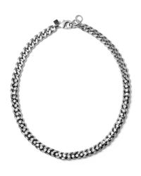 Banana Republic - Metallic Sparkle Chain Necklace - Lyst