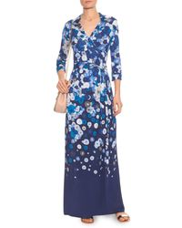 Diane von Furstenberg - Blue Abigail Dress - Lyst