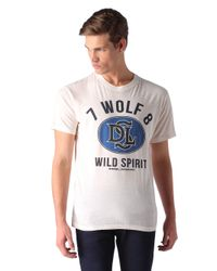 DIESEL | White T-joe-ag for Men | Lyst