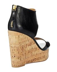 Nine West | Black Caswell Wedges | Lyst