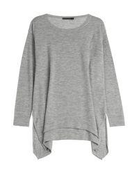 timeless design f0d35 0e191 Lyst - Donna Karan Cashmere Pullover - Grey in Gray