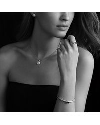 David Yurman - Metallic Noblesse Bracelet With Diamonds And Gold - Lyst