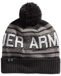 Under Armour | Black Billboard 2.0 Beanie for Men | Lyst