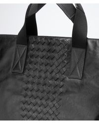Bottega Veneta Black Nero Light Calf Intrecciato Briefcase for men