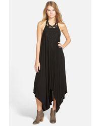 Rip Curl - Black 'Castaway' Maxi Dress - Lyst