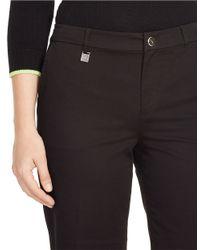 Lauren by Ralph Lauren - Black Stretch-twill Golf Shorts - Lyst