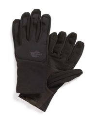 The North Face | Black 'canyonwall' Etip Gloves | Lyst