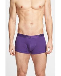 2xist | Purple No Show Trunks (assorted 3-pack) for Men | Lyst