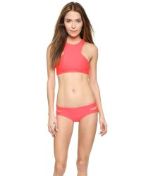 Mikoh Swimwear - Red Puka Puka Bikini Bottoms - Fiji - Lyst