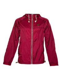 Raging Bull | Red N/alightweight Cagoule Full Zip Mac for Men | Lyst