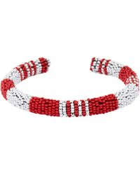 Isabel Marant - Red Beaded Necklace - Lyst