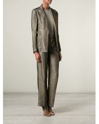 Jean Paul Gaultier - Gray Trouser Suit - Lyst