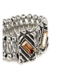 Philippe Audibert | Metallic Loa Ethnic Stone Ring | Lyst