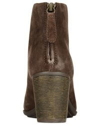 Clarks   Gray Collection Enfield Tess Booties   Lyst