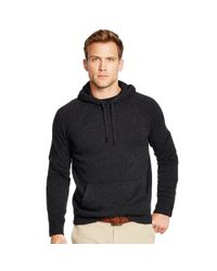 Polo Ralph Lauren | Black Cotton Jacquard Pullover Hoodie for Men | Lyst
