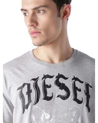 DIESEL | Gray T-roff for Men | Lyst