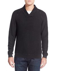 Tommy Bahama | Black 'sea Spray' Shawl Collar Sweater for Men | Lyst