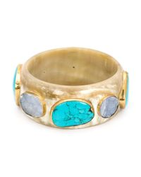 Ashley Pittman | Blue 'kuruka' Bangle | Lyst