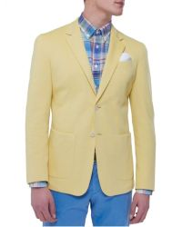 Jules B - Yellow Jet Cotton Jacket for Men - Lyst