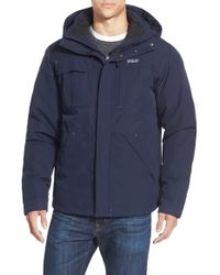 Patagonia | Blue 'wanaka' Waterproof Down Parka for Men | Lyst