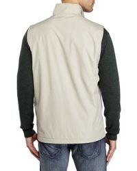 Izod | Natural Tonal Grid Ripstop Vest for Men | Lyst
