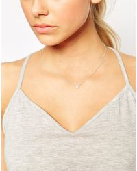Dogeared | Metallic Sterling Silver Bridal Pearls Of Happiness Necklace | Lyst