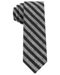Calvin Klein | Black Jeans Simple Stripe Skinny Tie for Men | Lyst
