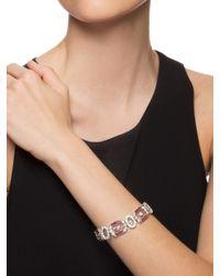 BaubleBar | Red Tourmaline Tennis Bracelet | Lyst