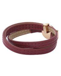 House of Harlow 1960 - Red Sunburst Wrap Bracelet - Lyst