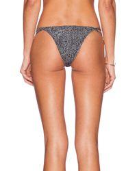 RVCA - Black Left Coaster Skimpy Bikini Bottoms - Lyst
