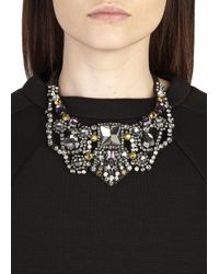 Nocturne - Gray Sirah Crystal Embellished Necklace - Lyst
