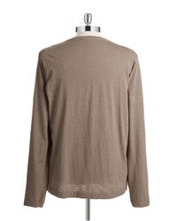 Weatherproof | Brown Long Sleeve Tee for Men | Lyst