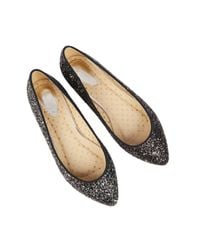 Oasis | Black Glitter Flat Point | Lyst